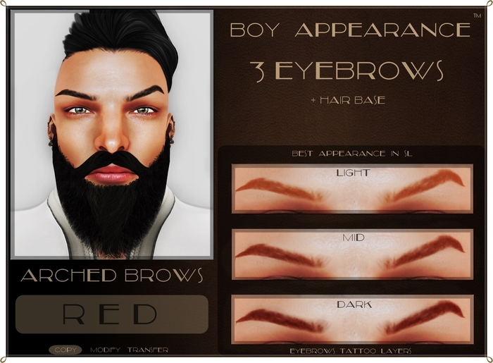 .:BA:. Eyebrow Arched Red