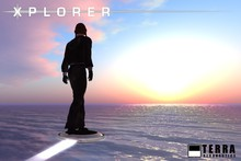 Terra Xplorer hovering personal transport  ✈ by Cubey Terra ✈