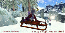 :::TBM::: Fancy Christmas Sleigh-Ana Inspired