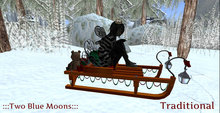 :::TBM::: Fancy Christmas Sleigh- Traditional WINTER FREE GIFT 1 Linden !