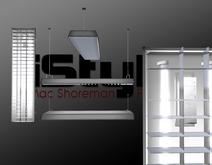 iStyle Fluorescent Luminaires 1 Li 100% Mesh