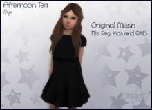 Afternoon Tea Dress - Onyx