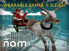Wearable Santa Sleigh ÑAM 2.0