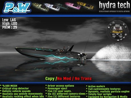 ..::P&W::.. Krypton Speed Boat-v1.0