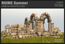 :Fanatik Architecture: RUINS Summer