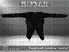Sugar   zippered leather jacket   demo ad