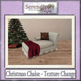 Serendipity Designs -  Christmas Chaise ~Texture Change~