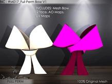 NC : M017_Full Perm Bow V1
