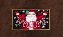 HoHo Santa Welcome Mat