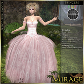 =Mirage= by KRC Moonstone Gown - Princess