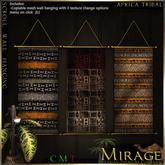 =Mirage= Scroll Wall Hanging - Metal Moods