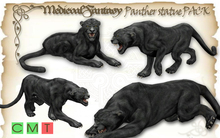 [MF] Mesh Panther statue FULL PACKAGE (boxed)