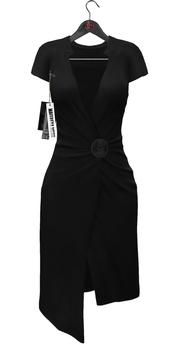 Maitreya Wrap Dress * Black