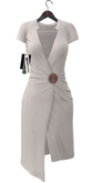 Maitreya Wrap Dress * White