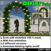 Kiss Under The Mistletoe Arch