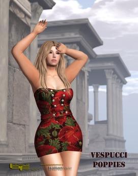 Babele Fashion :: Vespucci Minidress Poppies