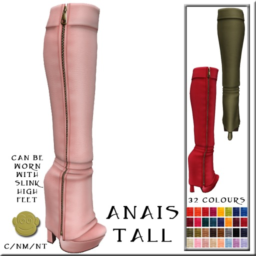 BM Anais Tall Boots