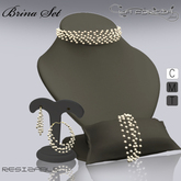 *Brina Complete Set* by La Forgia Jewels