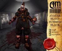 Scary Clown Black