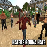 Haters Gonna Hate pose