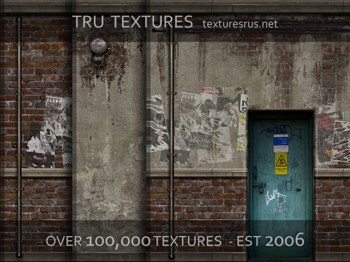 25 Seamless Urban Decay Textures Set Two - 1024 x 1024 Pixels