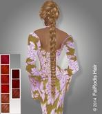 FaiRodis Flexi Braid hair deep reds tones
