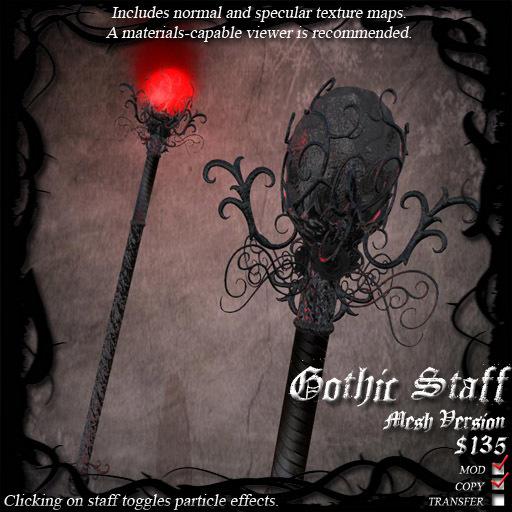 Gothic Staff (Mesh Version)