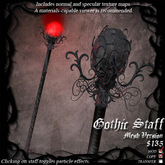 Gothic Staff (Mesh Version)