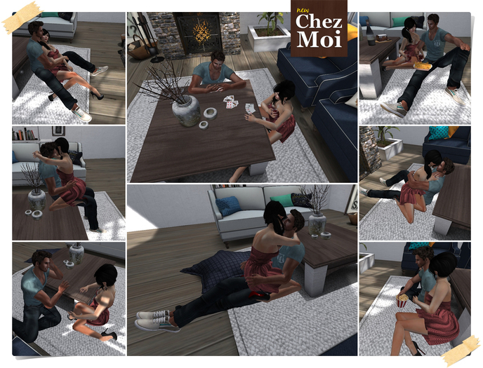 Coffee Table Multiposes Sunshine ♥ CHEZ MOI