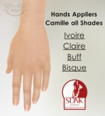 BELOVED..Body Wrap Camille Hands - Slink Appliers