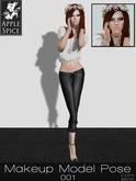 Apple Spice - Makeup Model Pose 001