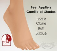 BELOVED..Body Wrap Camille Feet  - Slink Appliers