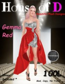 House of D Gemma Red