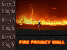 Privacy Wall-Fire-Seamless