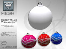 VF MESH Christmas Ornament