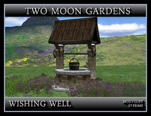 LANDSCAPED WISHING WELL* PART MESH
