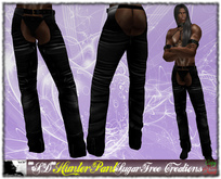 **SD** -Demon Hunter ( MESH Pant ) Black version