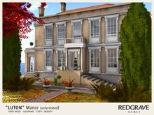 ** LUTON Manor - REDGRAVE (unfurnished) **