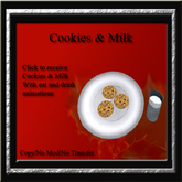 Cele'Sations ~ Milk & Cookies Gift Giver