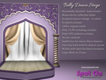 Spot On Belly Dance Stage - Texture Change (BOX)