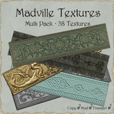 Madville Textures - Metal & Stone Ornaments - Multi Pack 1
