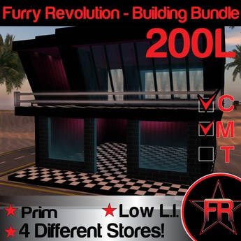Furry Revolution Building Bundle
