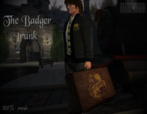Badger Trunk+ gift! (Animated) Hufflepuff