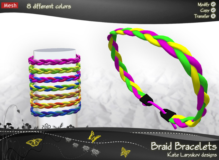 [K's K] Braid Bracelets