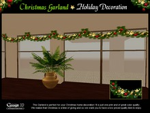 Gaagii - Christmas Garland ~ Holiday Decoration