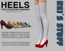 Rei's Stuff - Heels for Kemono Humanfeet