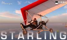Terra-Kojima Starling ultralight airplane  ✈ by Cubey Terra ✈