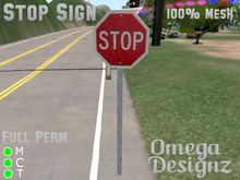 Stop Sign (Mesh)