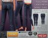 Display ladies skinny jeans demo