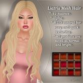 !SOUL - HAIR Mesh - Liatris - 12 Nuances -  Red Set 2